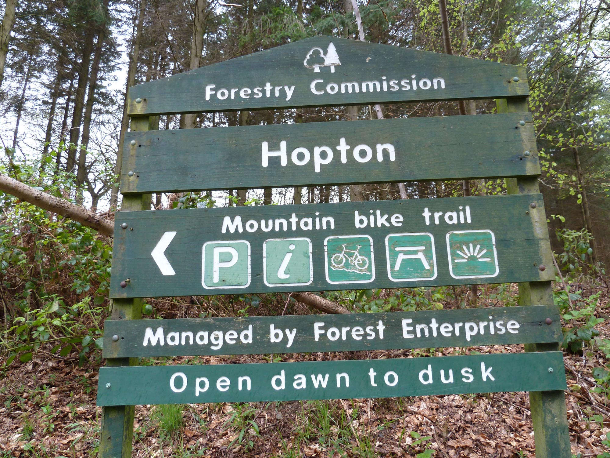 Hopton Mountain Bike Trail
